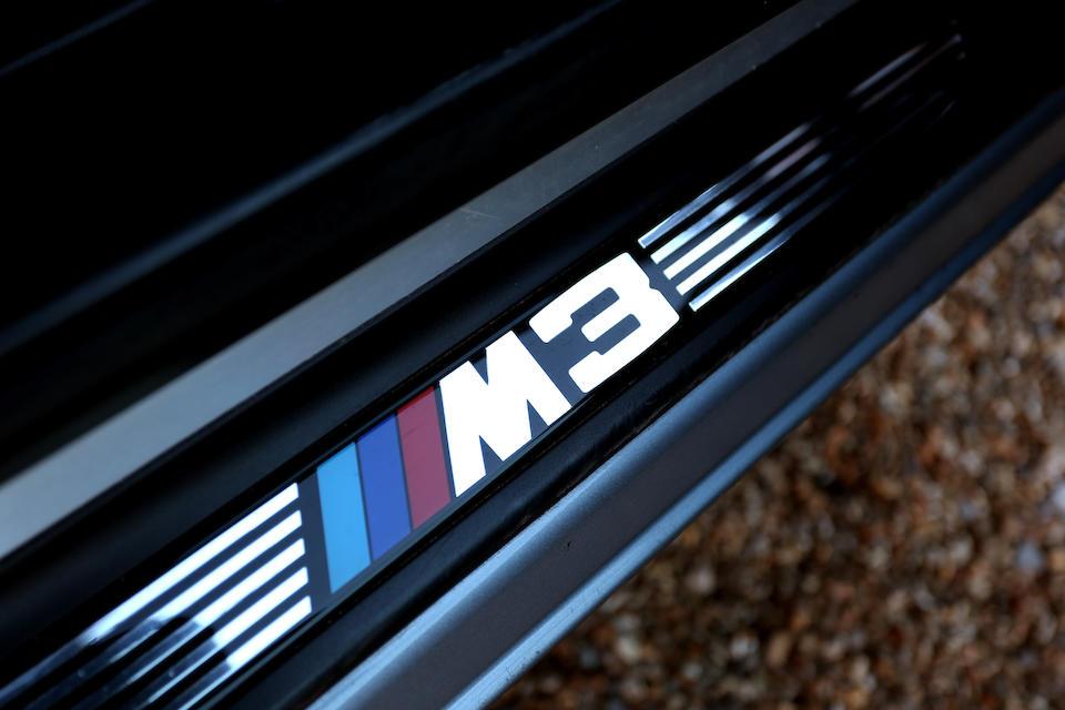2004 BMW M3 (E46) Coupé  Chassis no. WBSBL92020JR09412
