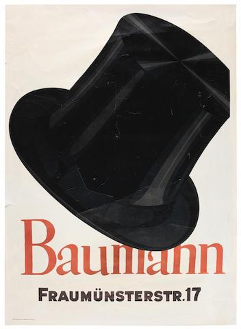 BAUMBERGER, Otto (1889-1961) BAUMANN