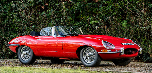 1965 Jaguar  E-Type 'Series 1' 4.2-Litre Roadster  Chassis no. 1E 20711