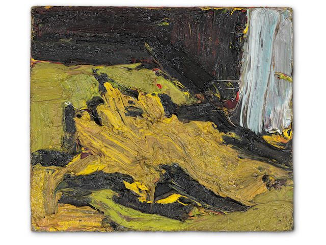 Frank Auerbach (British, born 1931) Reclining Head of E.O.W. II 1969