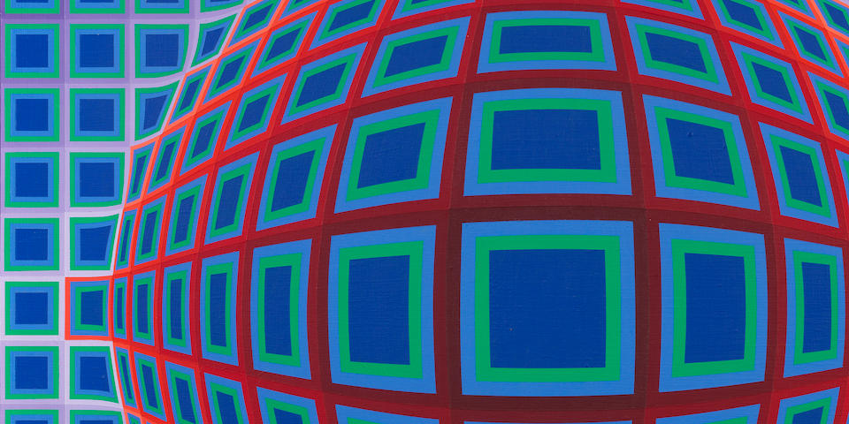 Victor Vasarely (Hungarian/French, 1906-1997) V.P. 103 1979