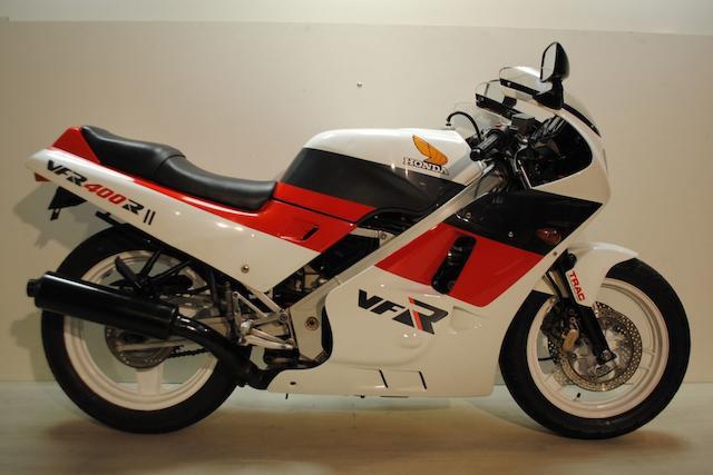 1988 Honda VFR400R Type NC21 Frame no. NC21 1011212 Engine no. NC13E 1041291