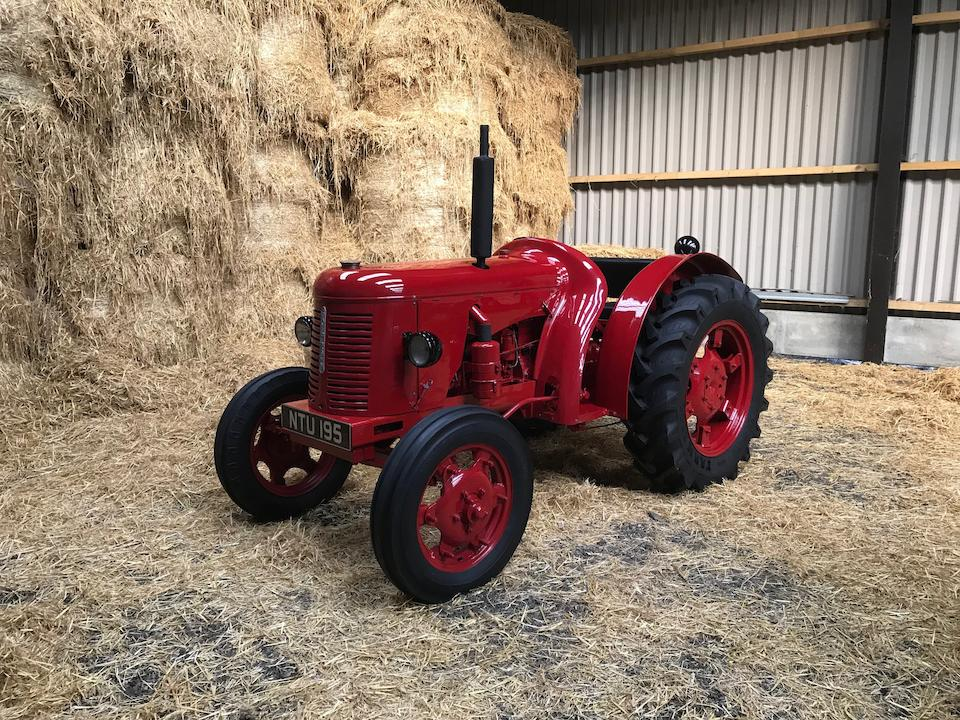 1951 David Brown T.V.O Cropmaster Tractor  Chassis no. P37180