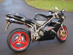 1998 Ducati 916 Senna III Frame no. DMS916S1-013185 Engine no. 013665