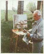 Marcel Dyf (1899-1985) 'Verger en Ile de France'