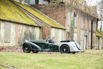One of only 12 built, The Property of the Royal Automobile Club,1937 Alvis 4.3-Litre 'Short Chassis' Tourer  Chassis no. 14340