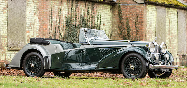 One Of Only 12 Built The Property Royal Automobile Club1937 Alvis