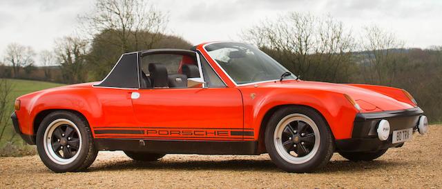 1975 Porsche 2.7-Litre 914/6 GT Targa Coupé Re-creation  Chassis no. 4752906014