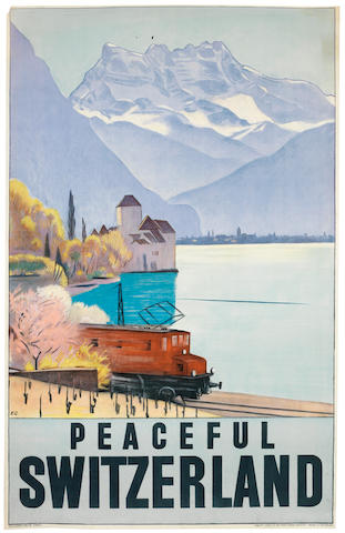 CARDINAUX, Emil (1877-1936) PEACEFUL SWITZERLAND