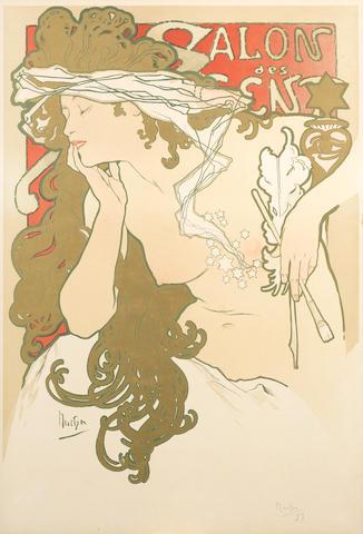 MUCHA, Alphonse SALON des CENT