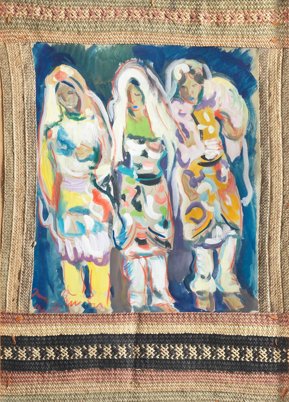 Irma Stern (South African, 1894-1966) Three Indian Women