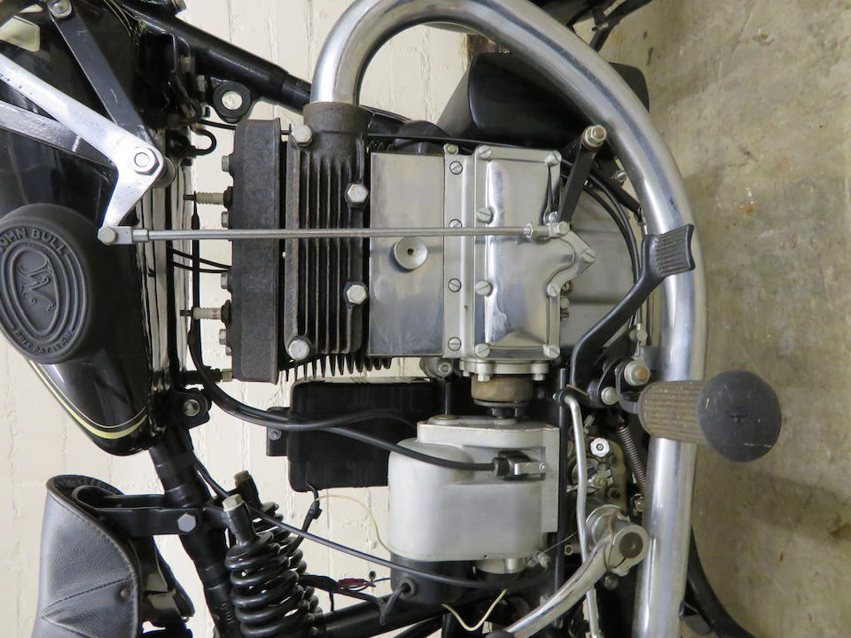 Property of a deceased's estate, c.1930 Matchless 394cc Silver Arrow Frame no. 1060 Engine no. A1050