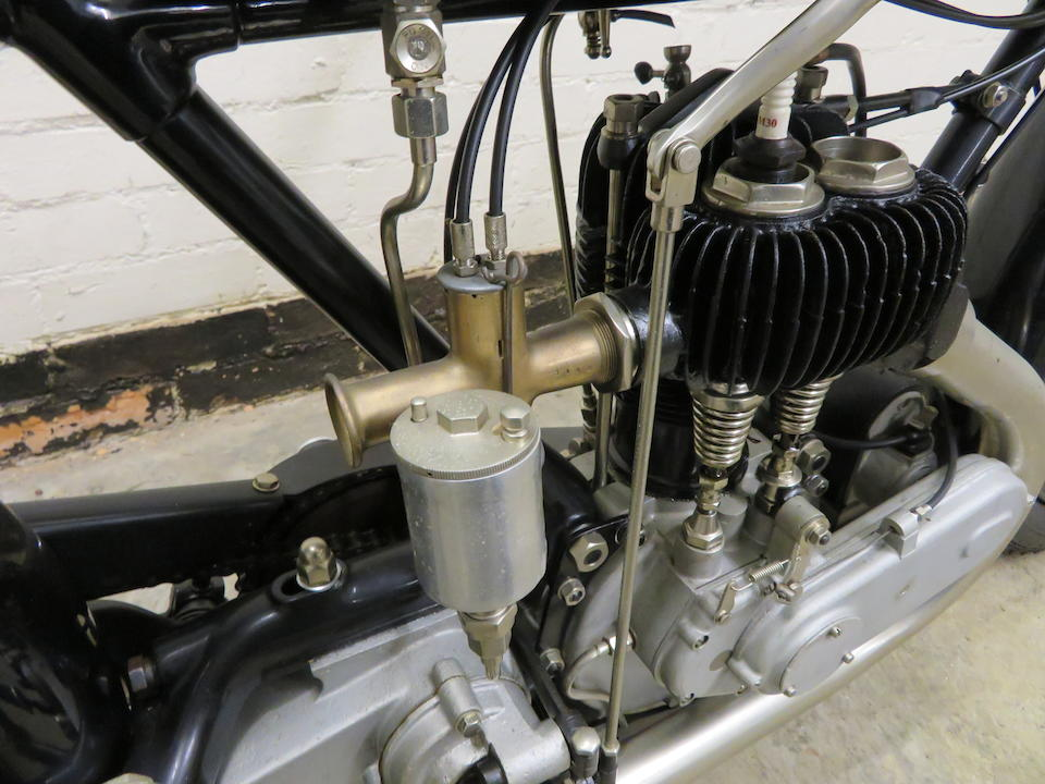 Property of a deceased's estate,c.1925 AJS 2¾hp Frame no. to be advised Engine no. 28118