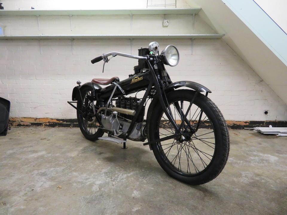 Property of a deceased's estate, 1923 Nimbus 746cc Four Frame no. 322 Engine no. V322