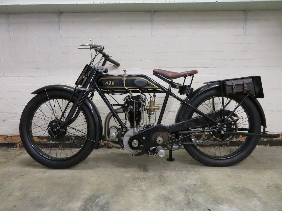 Property of a deceased's estate,1926 AJS 350cc 'Big Port' Frame no. 83124 Engine no. 83124