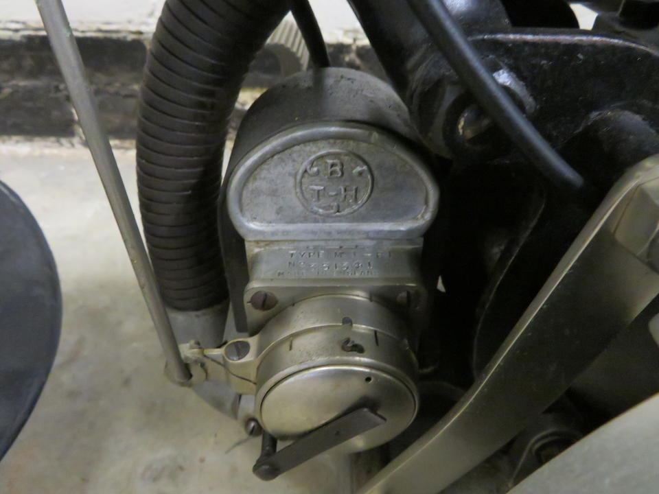 Property of a deceased's estate, c.1922 Connaught 3½hp (see text) Frame no. 3662 Engine no. 3995