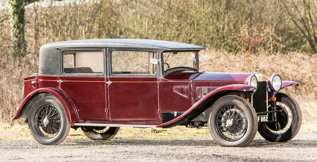 From the collection of the late Brinley 'Brin' Edwards. Proceeds to the RSPCA.,c.1931 Lancia Lambda 8th-Series Saloon  Chassis no. 21126