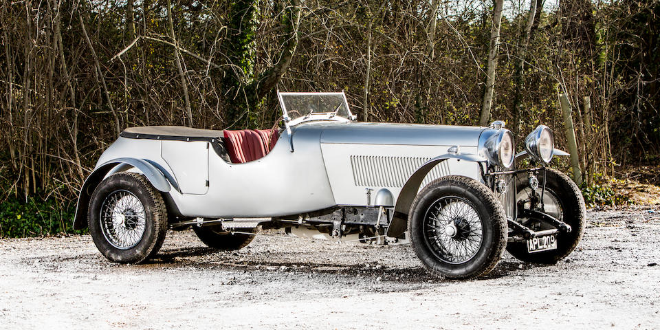 From the collection of the late Brinley 'Brin' Edwards. Proceeds to the RSPCA.,1933 Lagonda M45 4½-Litre Tourer  Chassis no. Z10585