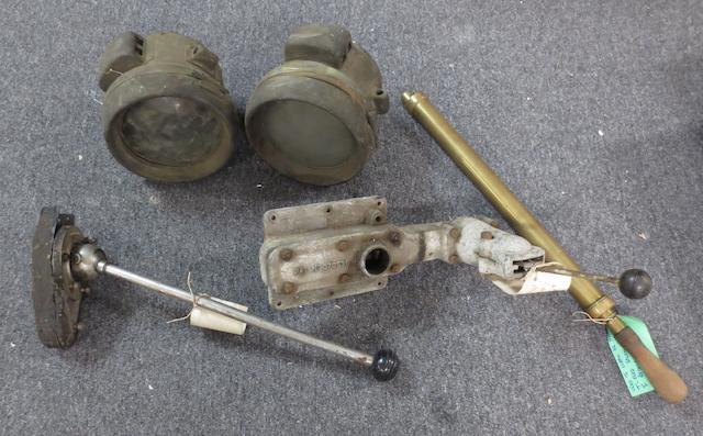 Various motoring spares,   ((5))