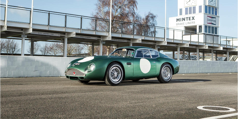 '2 VEV' - The ex-Essex Racing Stable,1961 Aston Martin ' ' ...