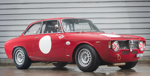 The ex-Tommy Clapham, Geoff Breakell,1965 Alfa Romeo Guilia Sprint GTA  Chassis no. AR 752638