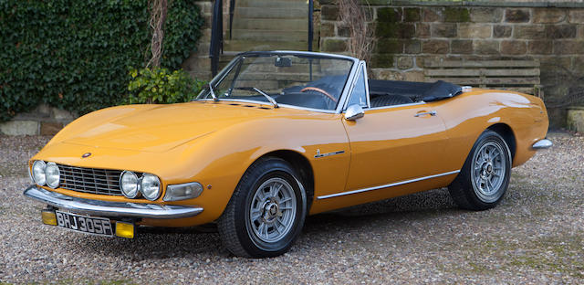 1968 FIAT Dino 2.0-Litre Spider with Hardtop  Chassis no. 135AS000081