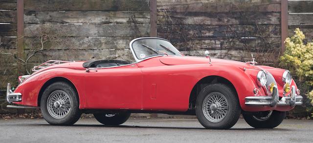 1960 Jaguar XK150S 3.4-Litre Roadster  Chassis no. T832100DN Engine no. VS 2127-8