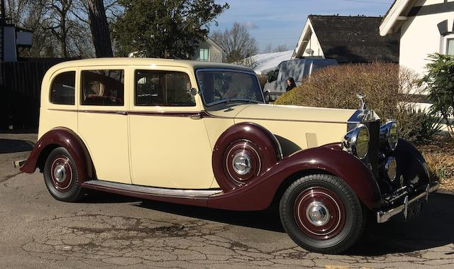 1939 Rolls-Royce 25/30hp Limousine  Chassis no. WHC20
