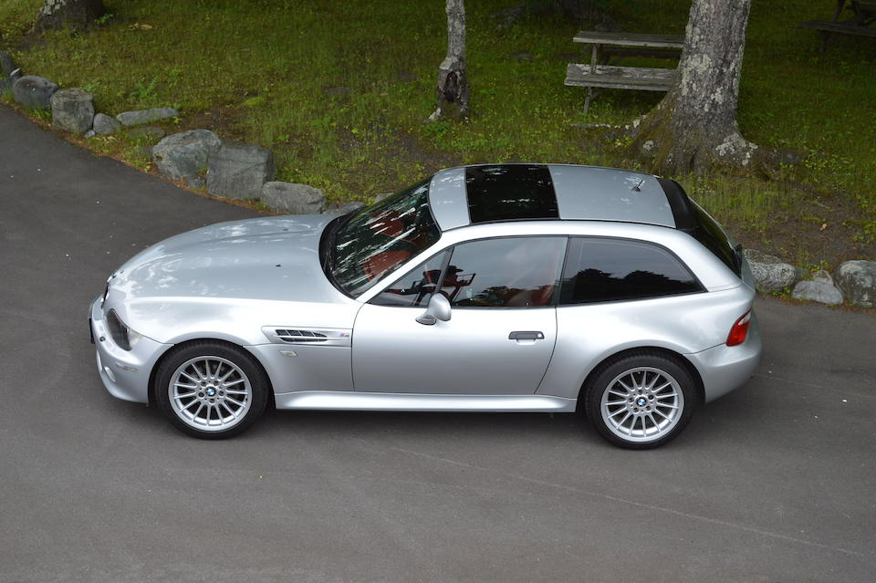 2000 BMW  Z3 Coupé   Chassis no. WBACK51060LC99169