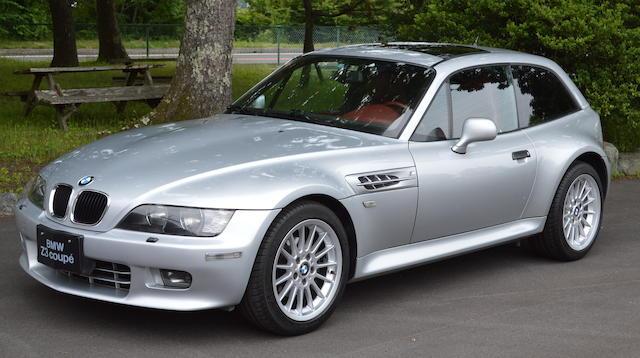 2000 BMW  Z3 Coupé   Chassis no. WBACK51060LC99169,2000 BMW  Z3 Coupé   Chassis no. WBACK51060LC99169