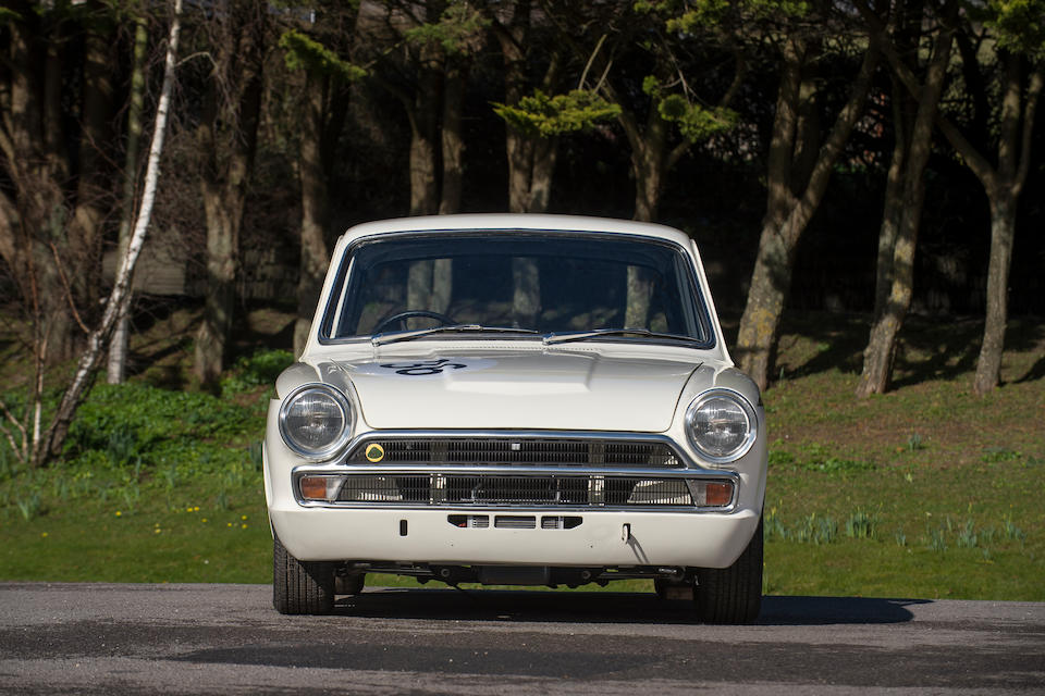 The ex-Alan Mann Racing,1965 Ford-Lotus Cortina Competition Saloon  Chassis no. BA74EU59035