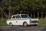 The ex-Alan Mann Racing,1966 Ford-Lotus Cortina Competition Saloon  Chassis no. BA74EU59035