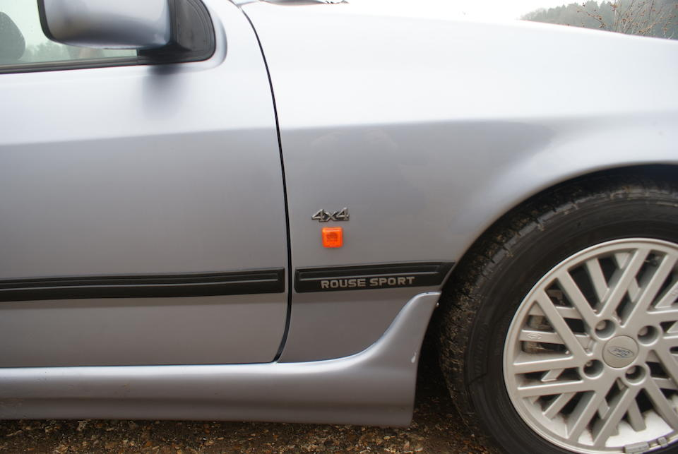 Bonhams : 1991 Ford Sierra Sapphire Cosworth 4x4 Rouse Sport