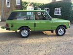 1980 Range Rover 4x4 Estate  Chassis no. LHABV1AA10331