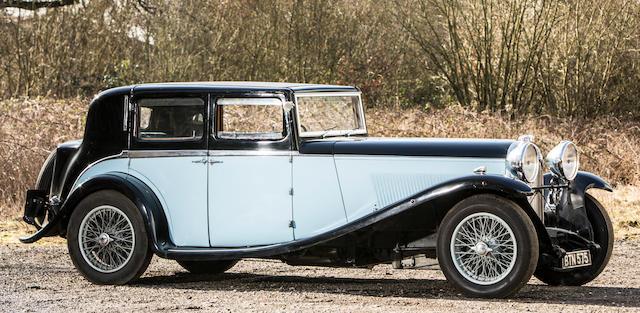 1935 Lagonda M45 Pillarless Saloon