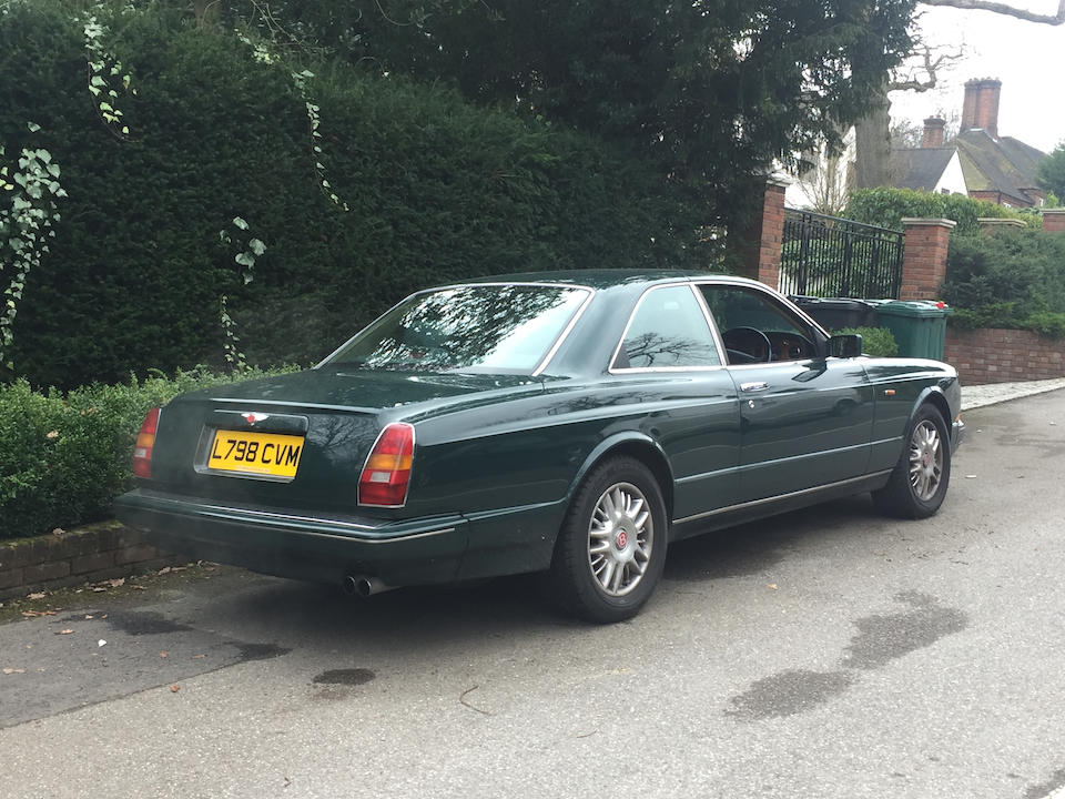 1993 Bentley Continental R Coupé  Chassis no. SCBZB03C6RCH52021