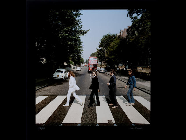 Iain MacMillan (1938-2006); The Beatles, 'Abbey Road';