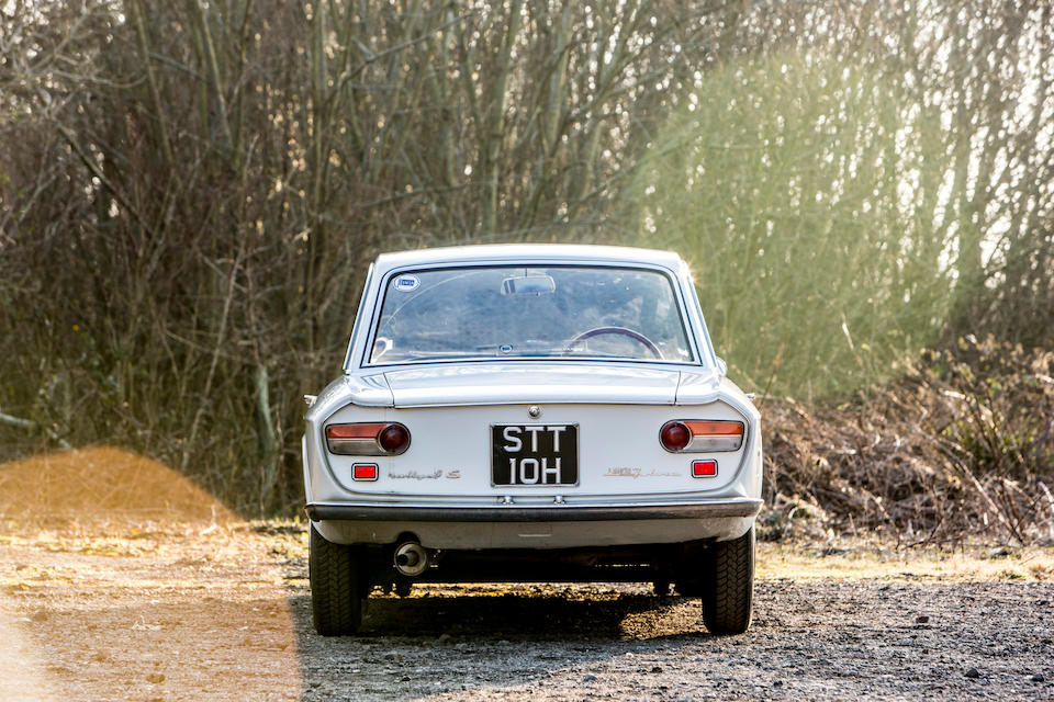 From the collection of the late Brinley 'Brin' Edwards. Proceeds to the RSPCA.,1970 Lancia Rallye 1.3 S Coupé  Chassis no. 81863619285
