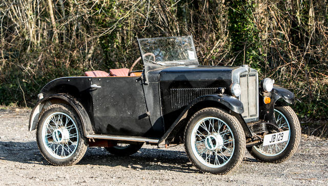 From the collection of the late Brinley 'Brin' Edwards. Proceeds to the RSPCA.,1931 Morris Minor Special  Chassis no. 15687A