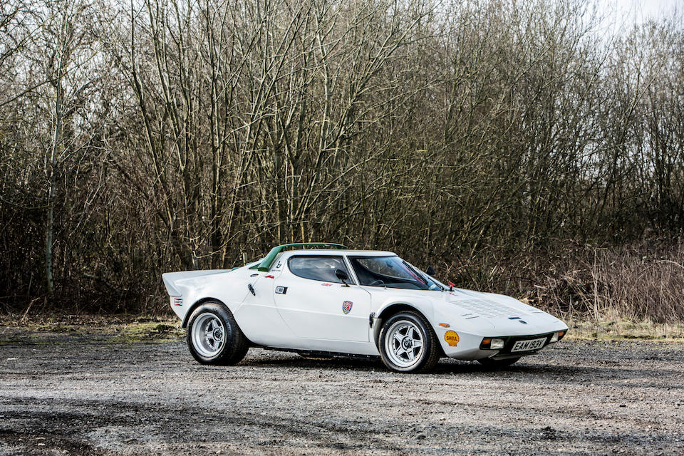 From the collection of the late Brinley 'Brin' Edwards. Proceeds to the RSPCA.,1979 Lancia Stratos Replica by Hawk  Chassis no. 0189677