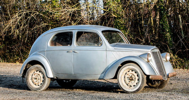 From the collection of the late Brinley 'Brin' Edwards. Proceeds to the RSPCA.,c.1940 Lancia Aprilia Saloon Project  Chassis no. 4210