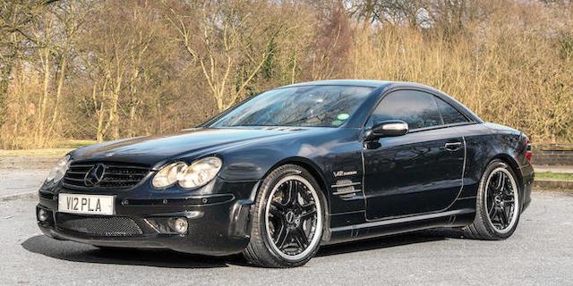 2006 Mercedes Benz Sl 65 Amg Convertible Chis No Wdb2304792f091878