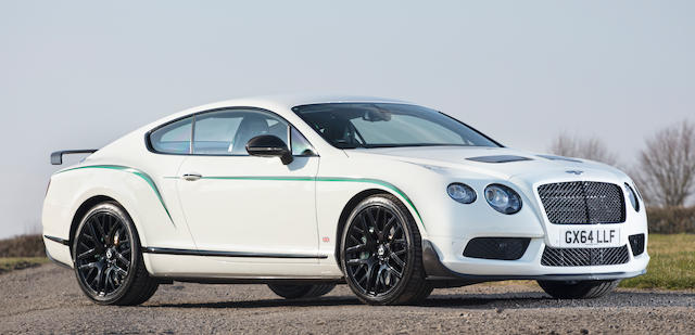2014 Bentley Continental GT3-R Coupé  Chassis no. SCBFR43W1FC046440