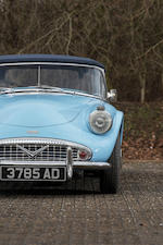 1960 Daimler SP250 Roadster  Chassis no. 10752