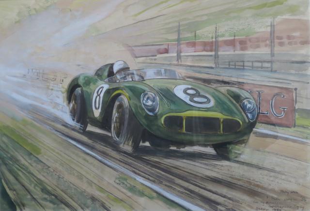 Ivon Sholto-Douglas (British), 'Aston Martin DB3S - 1956 Daily Herald International Trophy',
