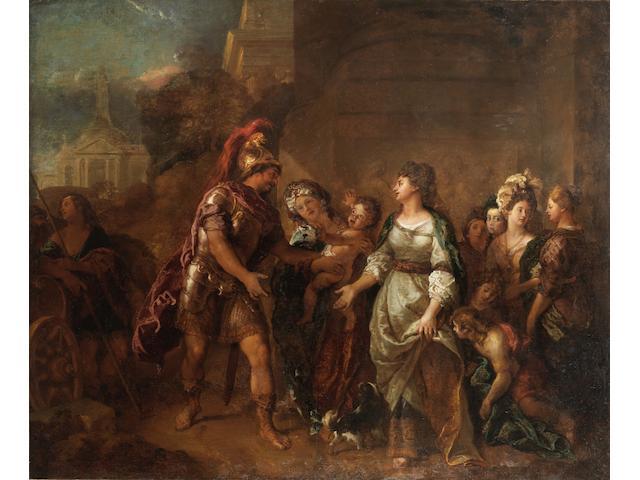 Charles de la Fosse (Paris 1636-1716) Hector and Andromache