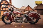 1940 Indian 78ci Four Frame no. 440656 Engine no. DDO656 M