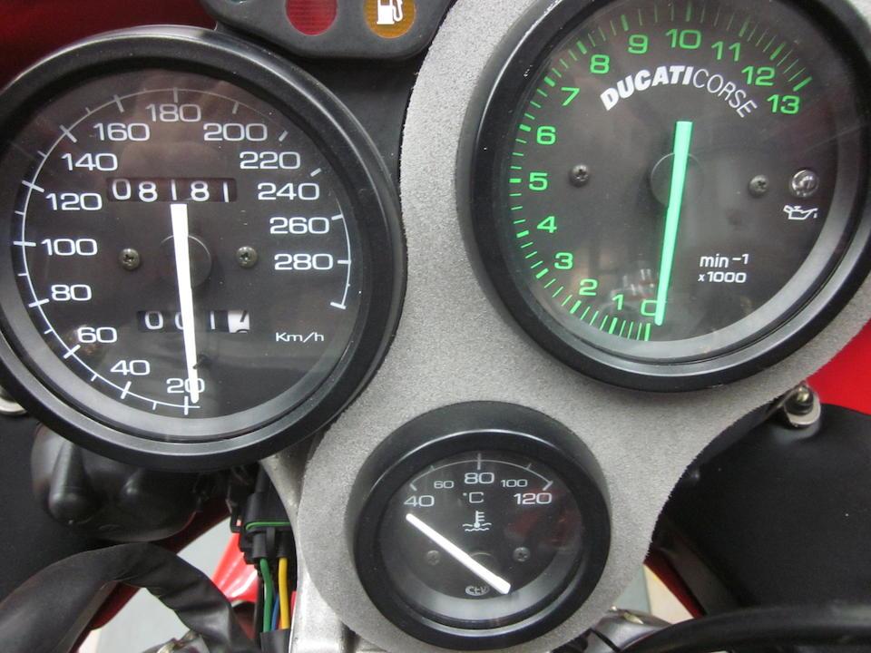1999 Ducati 996 SPS2 Frame no. ZDMH100AAXB002240 Engine no. ZDM996W4 018064
