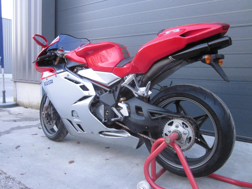 2000 MV Agusta 750cc F4 S '1+1' Biposto Frame no. ZCGF401AAYV002353 Engine no. to be advised