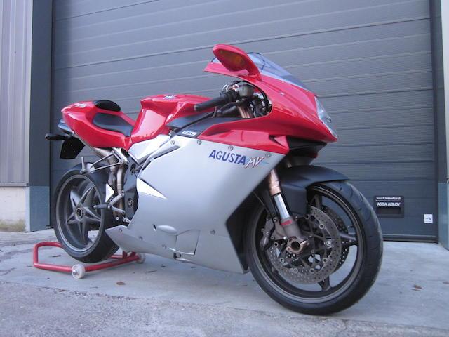 2000 MV Agusta 750cc F4 S '1+1' Biposto Frame no. ZCGF401AAYV002353 Engine no. to be advised